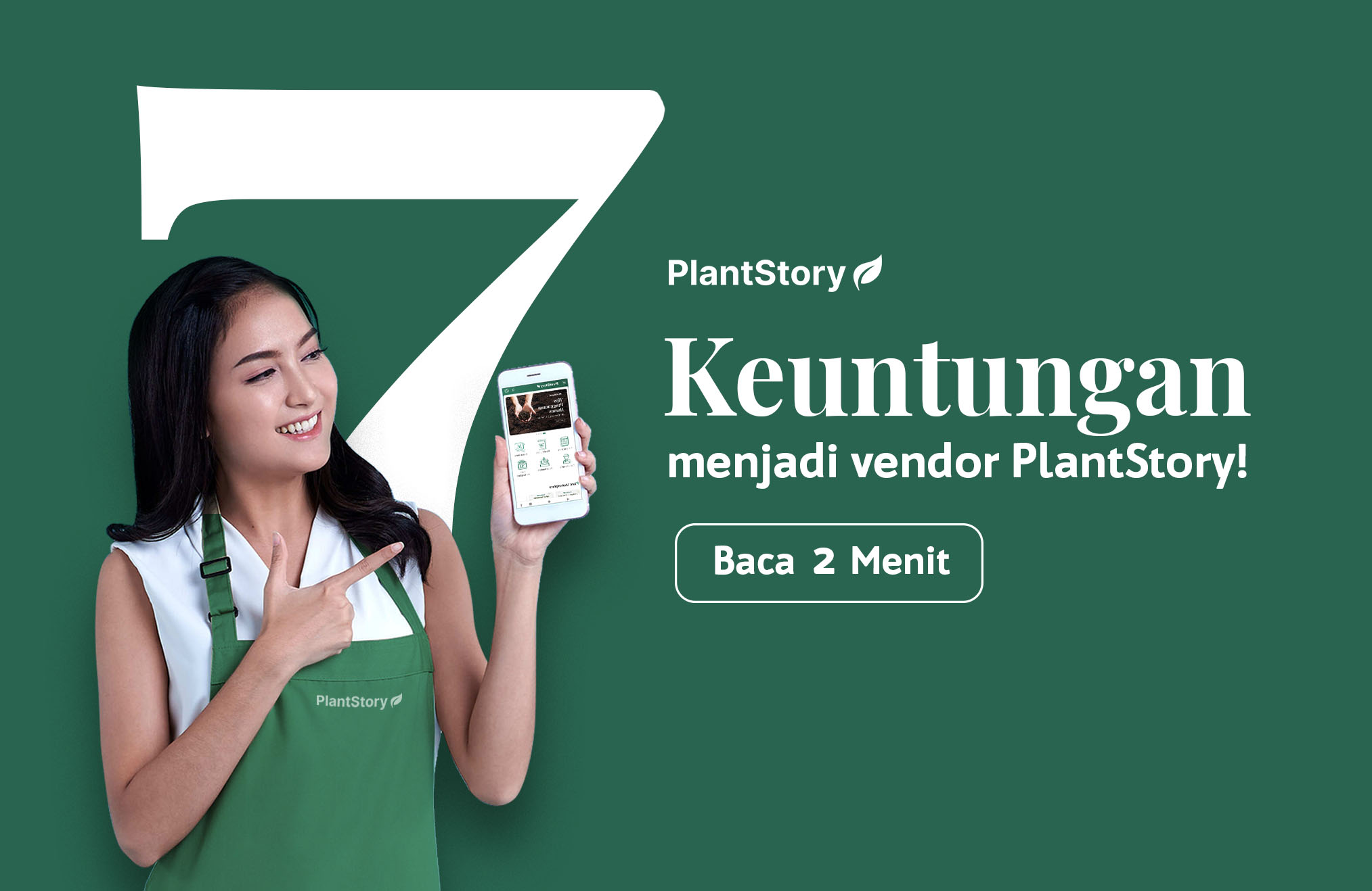 7 Keuntungan Menjadi Vendor PlantStory!